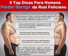 Madalena Sarranheira: 6 Dicas para Secar Gordura na Barriga por Rosi Fel...
