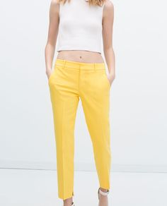 SKINNY TROUSERS-View all-Trousers-WOMAN   ZARA United States