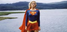 Helen Slater. Christian Slater older sister was the original Supergirl back in 1984.