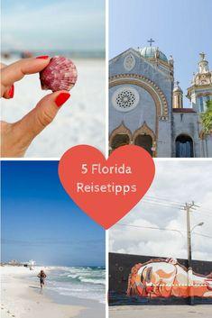 5 Florida Tipps für einen Roadtrip durch Florida.  Auf geht's nach St. Augustin, Wynwood, Sanibel, Ft. Myers Beach, Naples, Key West und Dry Tortuga NP. #Florida World Pictures, Key West, Naples, Travel Destinations, Street Art, Usa Roadtrip, Florida Usa, Beach, Movie Posters