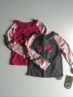 NWT Infant Girl's Under Armour All Season Gear Camo Long Sleeve #UnderArmour #Everyday
