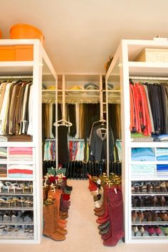 Hubby just needs to find somewhere else to put his clothes... I want the closet all to myself! ;0)