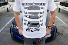 T-shirts, stickers & much more. We love cars and fun stuff. Evo, Motorcycles, Bring It On, Cars, Lifestyle, Mens Tops, T Shirt, Clothes, Shopping