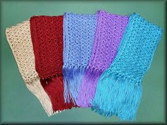 One Skein Scarf (MSU Scarves) by MS Magnolia, via Flickr