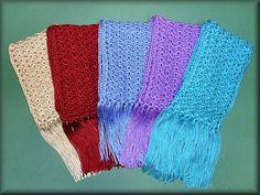 One Skein Scarf (MSU Scarves) by MS Magnolia, via Flickr