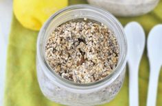 10 Overnight Oats Recipes to Make Mornings Easier | Lemon Coconut Oats: This will have you dreaming of the Florida Keys. That's because unsweetened coconut, maple syrup, lemon juice and vanilla flavor this tropical treat.