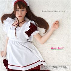 Dorothy Maid Costume [Japanese kawaii maid outfit : candyfruit original design] Victorian Maid, Maid Cosplay, Original Design, Maid Outfit, French Maid, Sissy Maid, Costume Shop, Maid Costumes, Kawaii