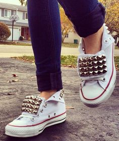 ShopExhale Studded Converse