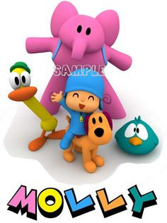 Pocoyo Custom T Shirt or Onesie  ALL SIZES AVAILABLE  by Shirtango, $10.00