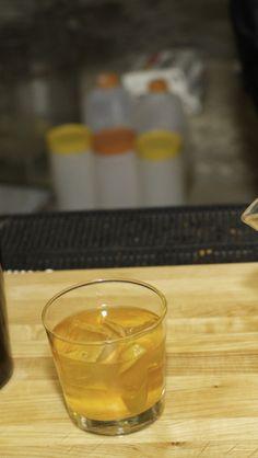 Improved Saffron Gin Cocktail