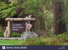Fishing boats moored at a dock, Mora Bay, Olympic National Park Stock Photo, Roy . Farm Entrance, Entrance Signage, Outdoor Signage, Yellowstone National Park, National Parks, Fishing Boats, Usa Fishing, Farm Signs, Cool Business Cards