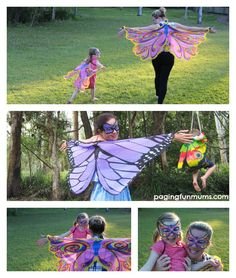 Mummy & Me matching Butterfly Wings! Oh the photo opportunities! Not expensive either!
