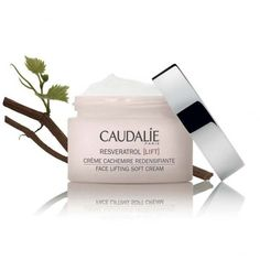 CAUDALIE Resveratrol Lift Face Lifting Soft Cream ❤ liked on Polyvore featuring beauty products, skincare, face care and face moisturizers