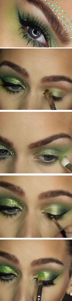 Tinkerbell | Cute St Patricks Day Makeup Ideas Step by Step | Easy Eye Makeup Tutorials for Beginners