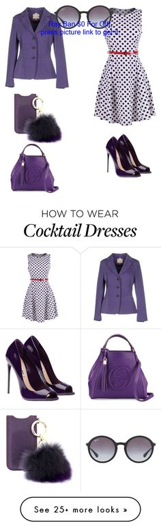 Başlıksız #908 by cevyilmaz on Polyvore featuring 2LUV, Mouche, Gucci, Iphoria and Ray-Ban