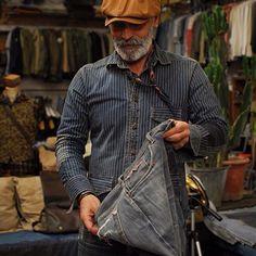 lifestylestudies: SCARTI-LAB #rawdenim#dryjeans#drydenim#fading#denim#jeans#wornin#denimstore#conceptstore#heritage#japanesedenim#vintage#s...
