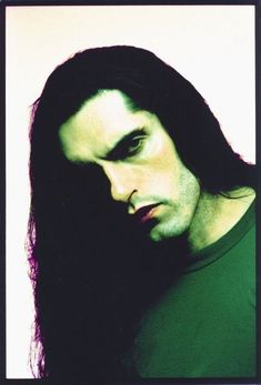 Peter Steele photographed by Roy Tee in I adore this photo! Type O Negative Band, Doom Metal Bands, Grunge Hippie, Popular People, Famous People, Peter Steele, Gothic Metal, Afraid Of The Dark, Green Man