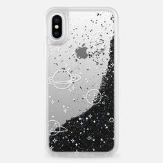 Casetify iPhone X Liquid Glitter Case - UNIVERSE by KIND OF STYLE
