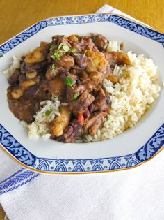 How to prepare and cook Stew Peas - Jamaica's Cuisine. Jamaican Stew Peas, Jamaican Cuisine, Jamaican Dishes, Jamaican Recipes, Indian Food Recipes, Gourmet Recipes, Cooking Recipes, Healthy Recipes, Ethnic Recipes