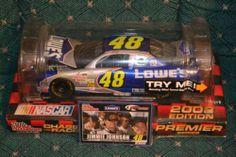 Jimmie Johnson 48 ROOKIE Car RC 2002 Wind Tunnel California 1st NASCAR WIN - New
