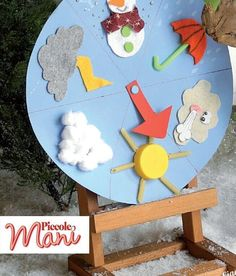 Che tempo fa kataskeues kids education, education e preschool activities. Weather Crafts, Weather Activities, Toddler Activities, Preschool Classroom, Classroom Decor, Preschool Activities, School Projects, Projects To Try, Diy For Kids