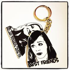 Leslie Knope and Ann Perkins Best Friends keychain - Parks and Recreation on Etsy, $9.50