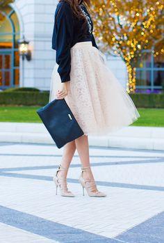 Pink Tulle Skirt <3