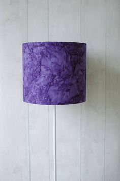 Purple lampshade, violet home decor, purple home decor, purple bedroom, lampshade, solid lampshade, marbled home decor, table lamp, handmade by ShadowbrightLamps on Etsy https://www.etsy.com/uk/listing/518182021/purple-lampshade-violet-home-decor