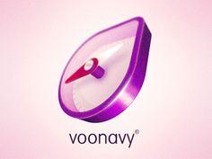 Voonavy 3d Logo Design for Desktop App