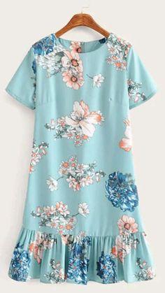 Simple Dresses, Pretty Dresses, Casual Dresses, Short Dresses, Fashion Dresses, Girls Dresses, Summer Dresses, Diy Dress, Fashion Sewing