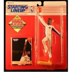PATRICK EWING / NEW YORK KNICKS 1995 NBA Starting Lineup Action Figure & Exclusive NBA Collector Trading Card (Toy)  http://budconvention.com/zone1.php?p=B000NQLOX8  #newyork