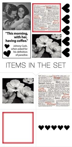 """Now that's a love story...."" by kimby72 ❤ liked on Polyvore featuring art"
