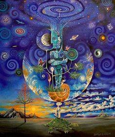 Conexão cósmica.