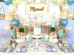 Petter rabbit Birthday Party Ideas | Photo 1 of 13 | Catch My Party