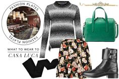 3 Great Dinner Spots, 3 Stunning Outfits To Match #Refinery29