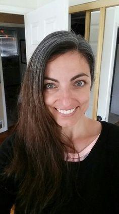 Gray hair don't care. Salt and pepper gray hair. No dye. Grey Hair Don't Care, Long Gray Hair, Silver Hair Highlights, Natural Highlights, Silver Fox Hair, Grey Hair Transformation, Charcoal Hair, Grey Hair Coverage, Hair No More