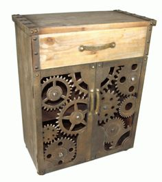 Wooden Metal Cabinet Drawer Designer Unit Contemporary Stylish