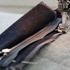 How to sew a Fly Front Zipper