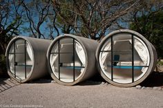 Mexico's recycled concrete tube hotel