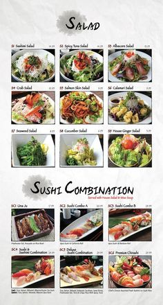 Menu - Fusion Sushi Japanese Restaurant | Manhattan Beach and Long Beach in California