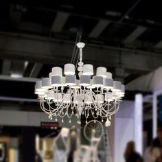 Eva 30 Light Chandelier  For our trailer in Florida.  Really brightened it up!