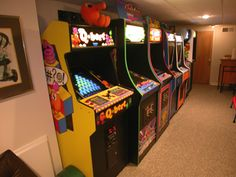 I would have Simpsons, Turtles in Time, Gauntlet Legends, Street Fighter, Galaga (to Quote Tony Stark)