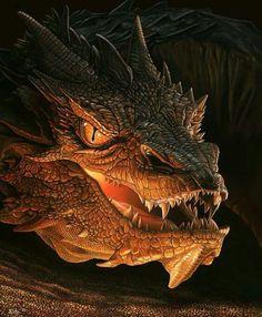 Exquisite detailed Dragon head.