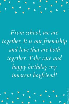 When your boyfriend is at distant, these wishes and messages make your love more strong for him and you. Send these. Birthday Wishes For Boyfriend, Long Distance Boyfriend, Happy Birthday Fun, Our Friendship, We Are Together, Messages, Love, Strong, Amor