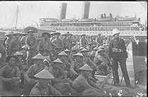 Boarding skirmishers Annamite aboard the Porthos Haiphong, WW1