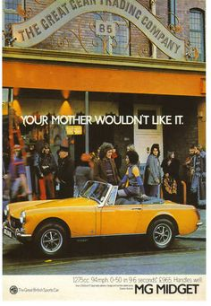 MG 1970's Posters & Ads