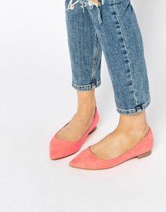 Chaussures femme   Chaussures, sandales et baskets   ASOS. Ballerines  Pointues  Chaussures Compensées ... e0adb08899e7