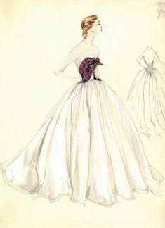 5-Madame Gres for Bergdorf Goodman, 1950s.