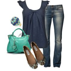 Blues, created by jliz516 on Polyvore