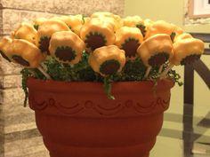 Cindy's 40th Birthday Sunflower Cake Pops!!